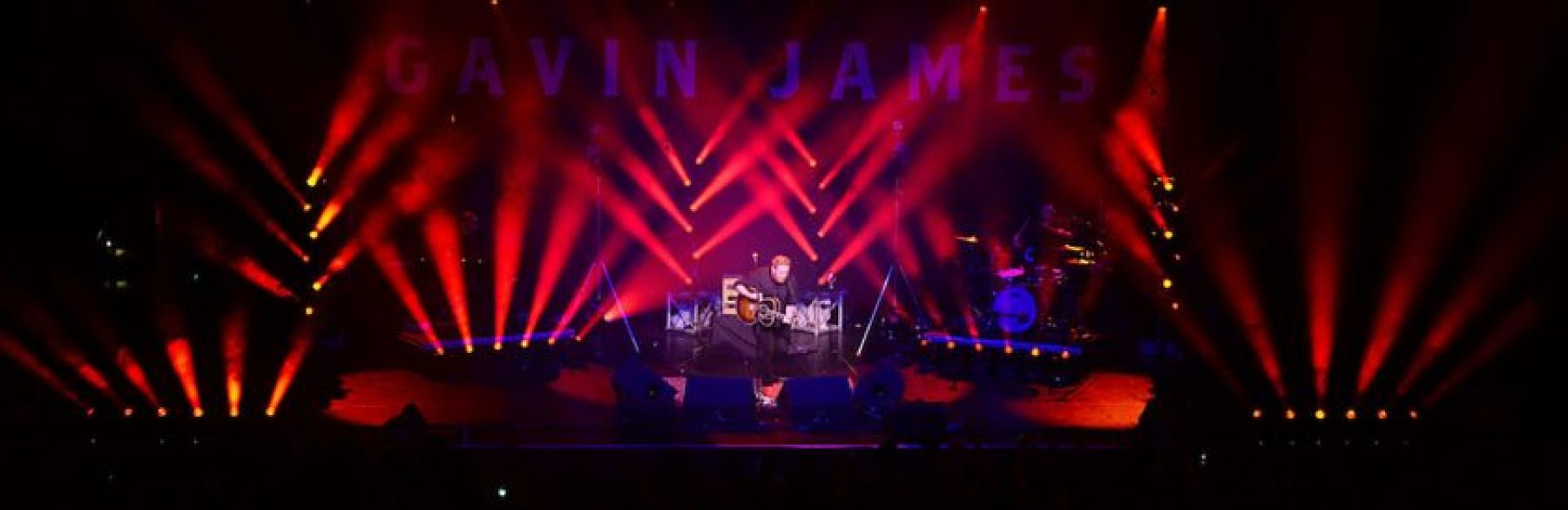 INEC Killarney New Lighting Rig Goes Live on Gavin James with AC-ET