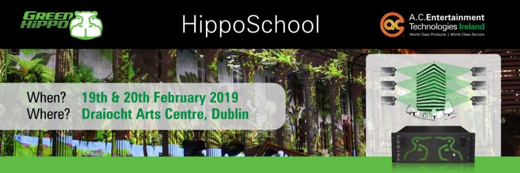 Green Hippo Hipposchool