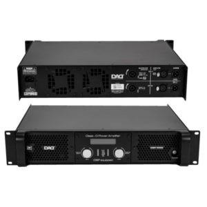 DP-DSP Series D-Class Power Amplifiers