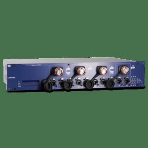 The Luminex GIGACORE 16RFO Network Switch Range feature both Fibre