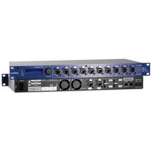 The Luminex GIGACORE 16XT Network Switch Range feature both front Fibre