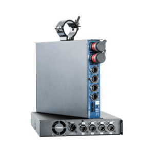 The Luminex GIGACORE 10 Network Switch Range feature both Fibre